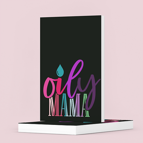 Oily Mama - Essential Oil Recipes - The Lovely Planner