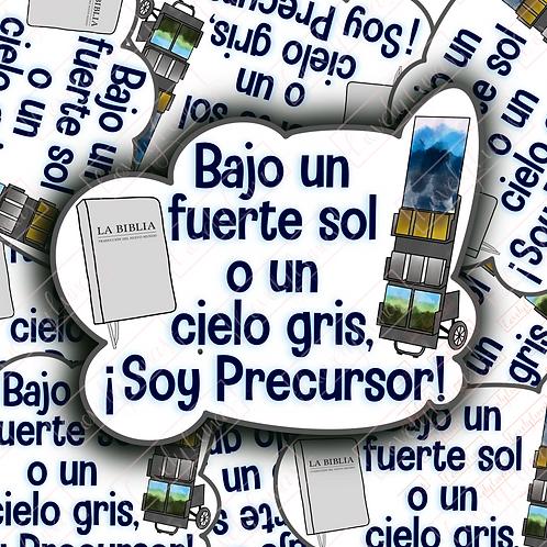 Soy Precursor!-Sticker