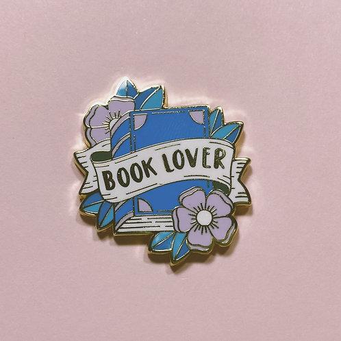 Book Lover Lapel Pin