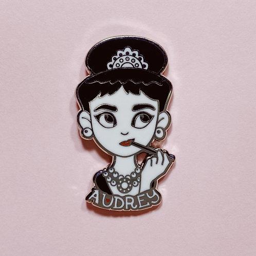 Audrey Hepburn Lapel Pin