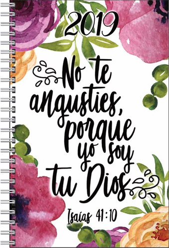 2019 Yearly Text Notebook - Spanish