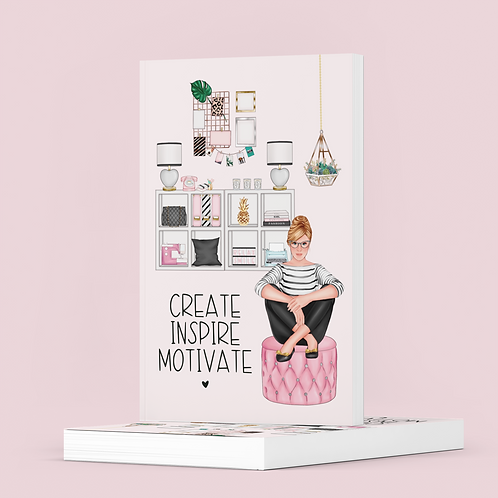 Create Inspire Motivate - The Lovely Planner Notebook