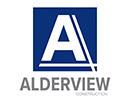 Alderview Construction logo website link