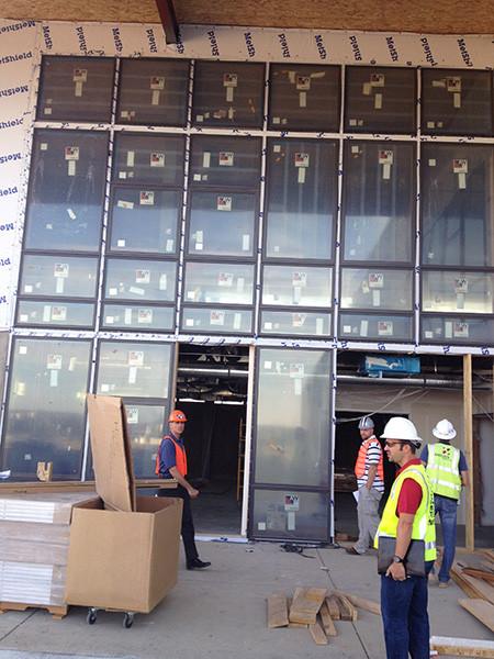 Andersen windows at Pearl Izumi