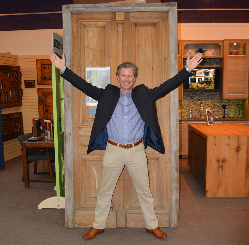 Chad Cox and Antique Door Barn