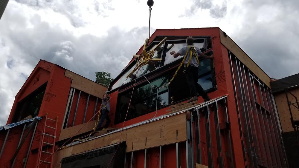 Mountain View Window & Door window install in Aspen