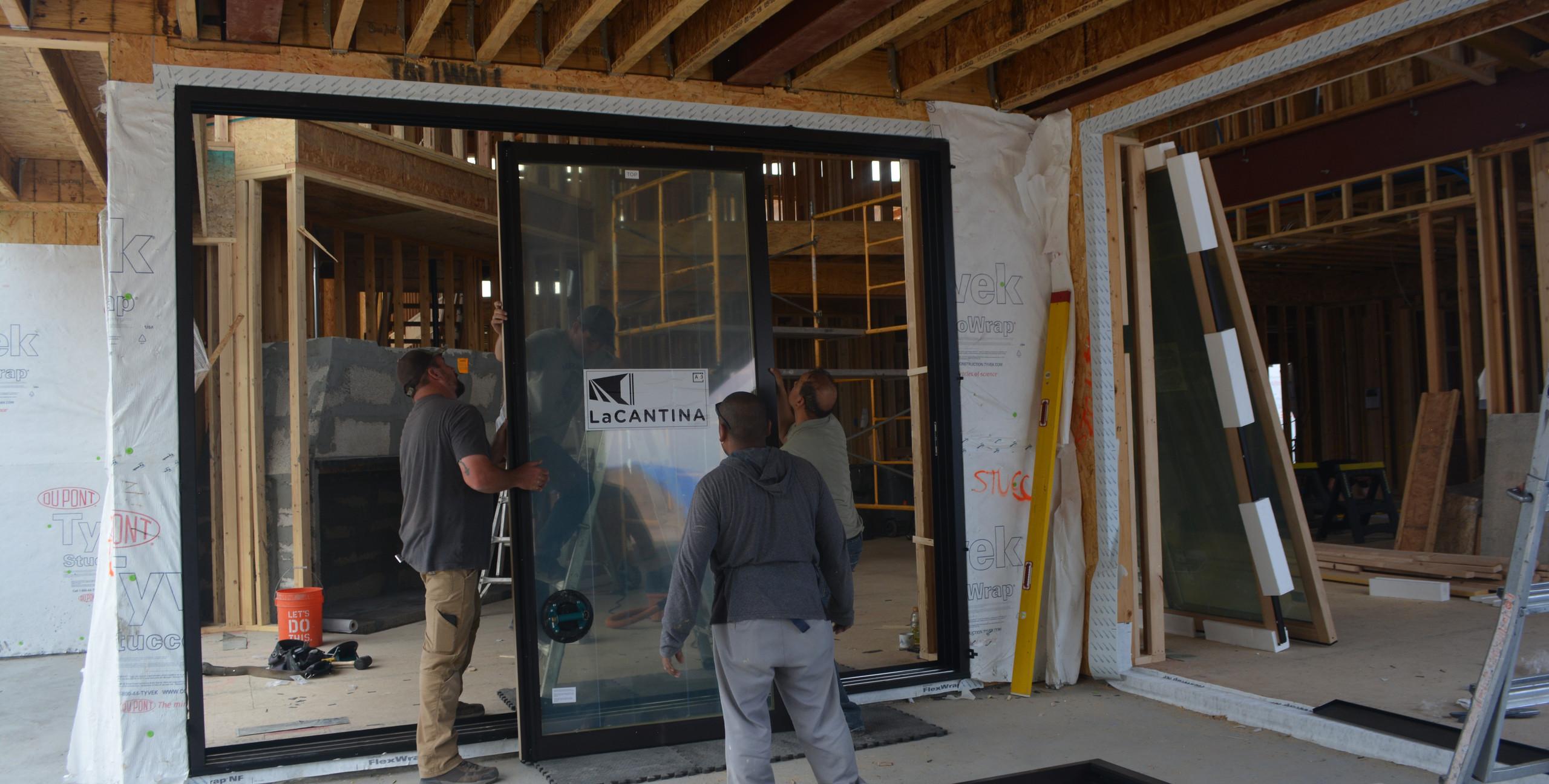 Installation of LaCantina Door panels