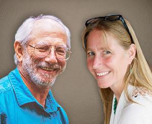 David Eisenberg and Laura Bartels head shots