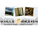 Walls by Design logo website link