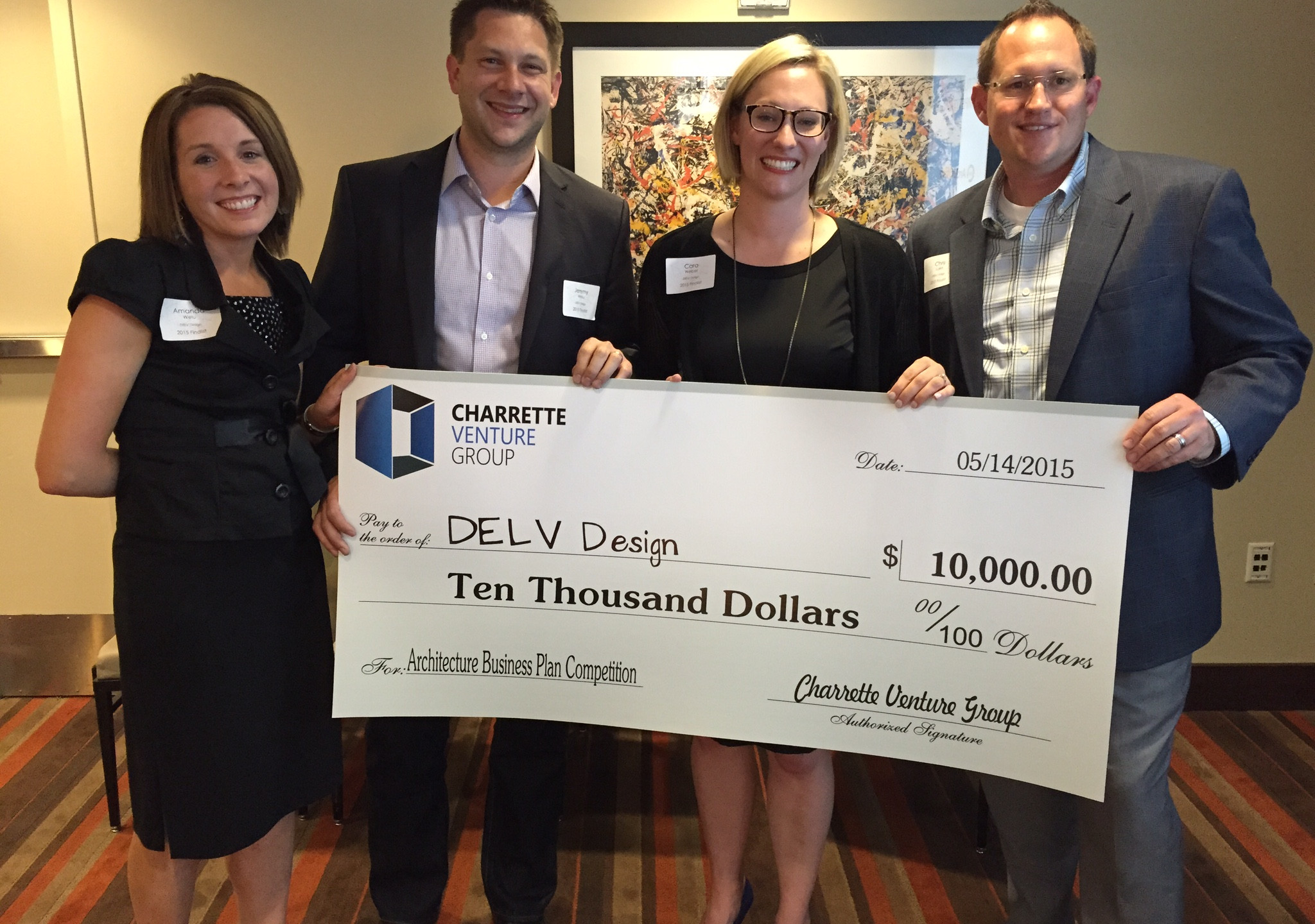 2015 Architecture Business Plan Competition Winners - DELV Design out of Indianapolis, IN