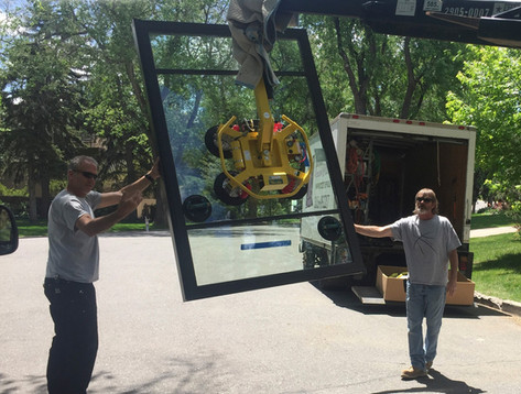 Weiland door installation