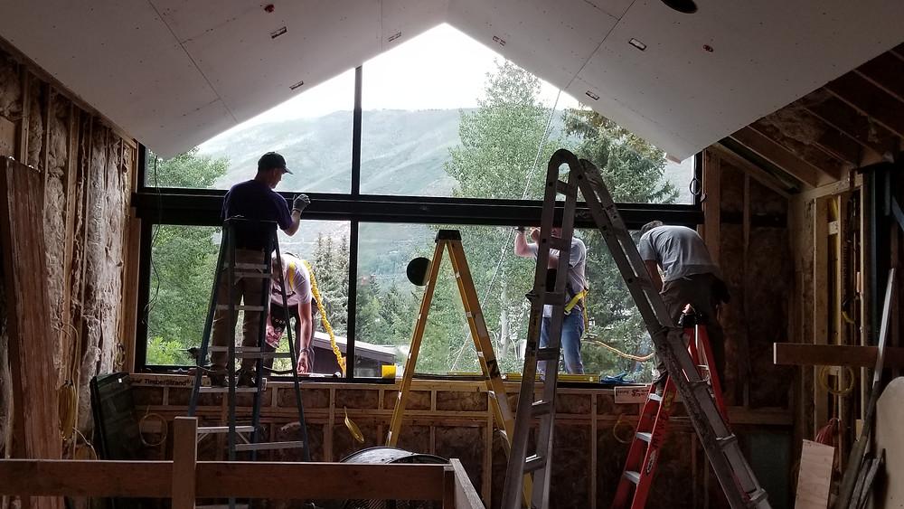 Window Install by Mountain View Window & Door