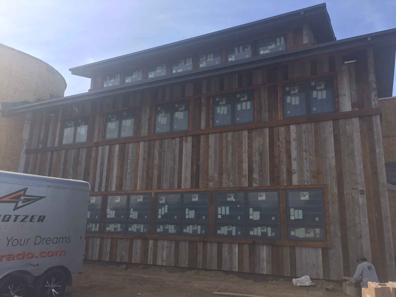 Designs by Sundown's new 7,200 sq. ft. corporate office.  Andersen E-Series windows supplied by Mountain View Window & Door and trusted advisors for this job was Devon Tilly.