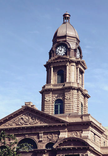 Historic Preservation Tarrant County Courthouse Restoration