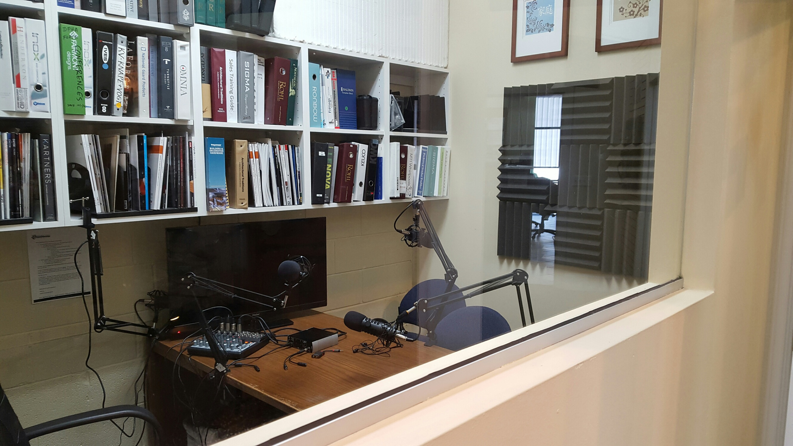 The NEW Art of Construction recording studio