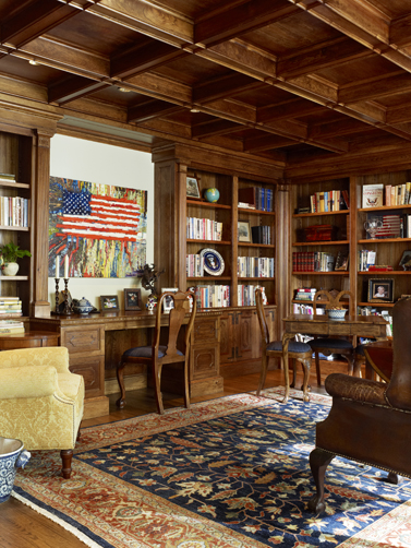 Library Custom Millwork, Ft. Worth, TX