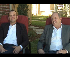 Devon Tilly, President and Kevin Keefe, Managing Advisor of Mountain View Window & Door