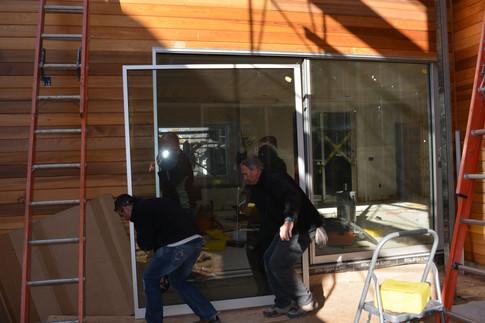 Installation of Fleetwood door