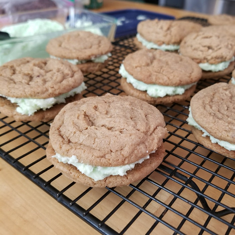 Graham sandwich cookies