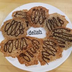 Crisp lacey cookies