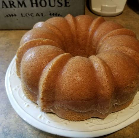 Irish Cream butter bundt cake