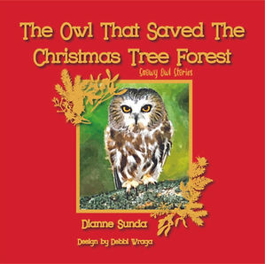 Cover of 'The Owl that Saved the Christmas Tree Forest'