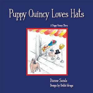 Cover image of 'Puppy Quincy Loves Hats'