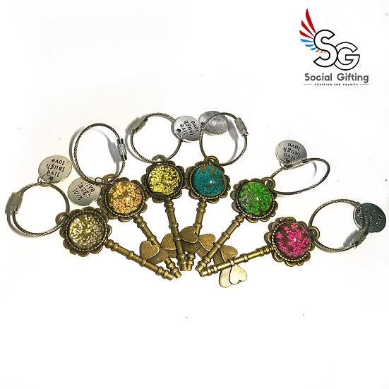 Key To Success Key Ring