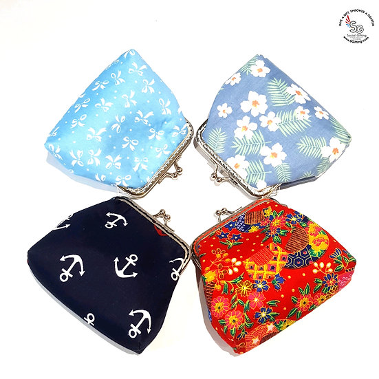 Handsewn Coin Purse with Clasp