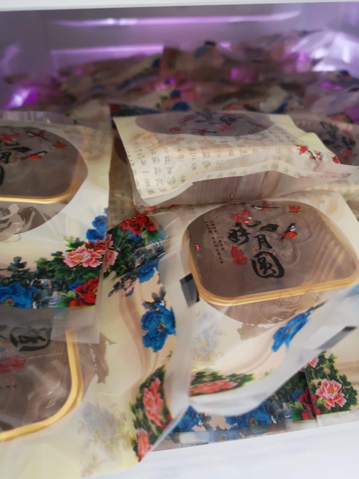 151 snow skin mooncakes for vulnerable seniors
