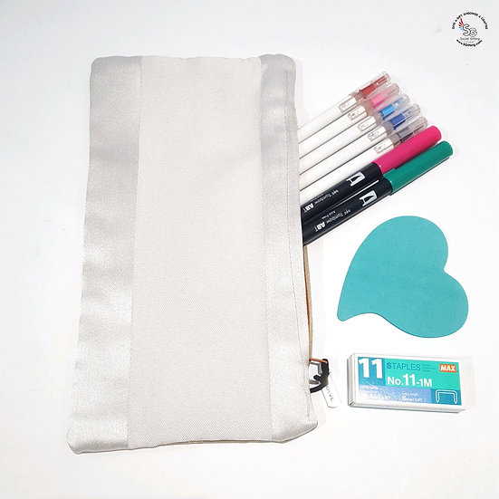 Long Fabric Pencil Case