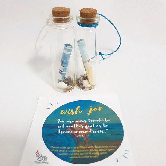 Glass Wish Jar