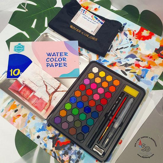Watercolour Mindfulness Set (36 colours)