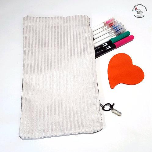 Long Fabric Pencil Case