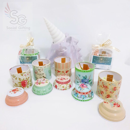 Scented Wood-Wick candles