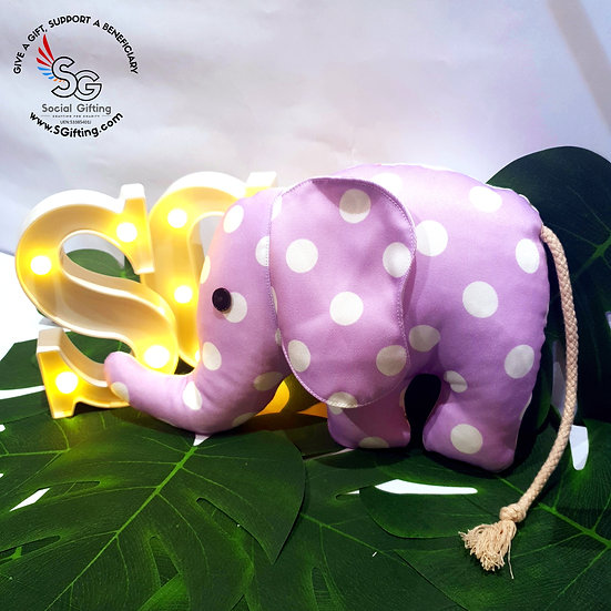 Handsewn Animal Elephant Plushies (Large)