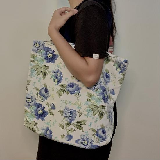 Fabric Tote Bag by Nenek Imah