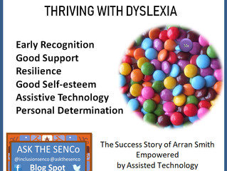 Dyslexia, the success formula.