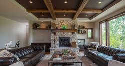 Ceiling Beam & Mantel