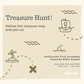 Brown Treasure Map Pirate Party Invitation.jpg