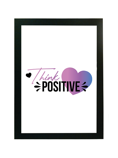 YouthfulQuote Digital Download - Think Positive