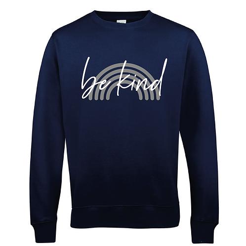 Be Kind Women's Sweatshirt - Multiple Colours Available