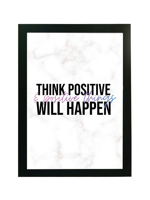 Positive Quote Digital Download - Positive Things