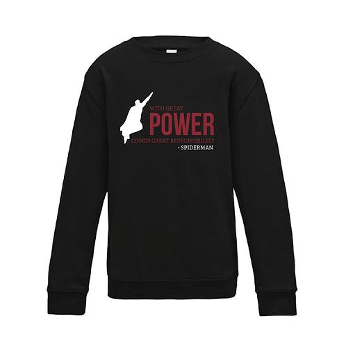 Power - Kids Sweatshirt