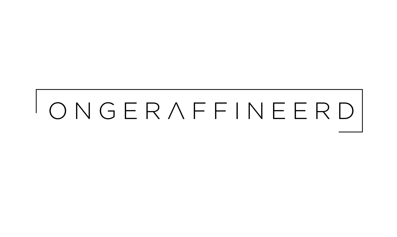 Ongeraffineerd - logo