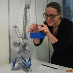 #tbt to one of my first Ampelmann projects - 3D-printing one of our systems! #ampelmann #neveradullm