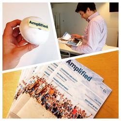 The best company now has its own magazine - Amplified! Bloed, zweet en tranen maar ik ben trots! #am