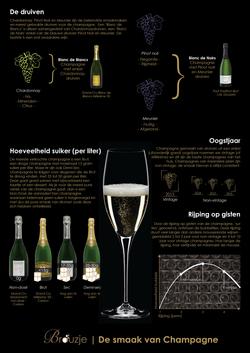 Smaak van Champagne