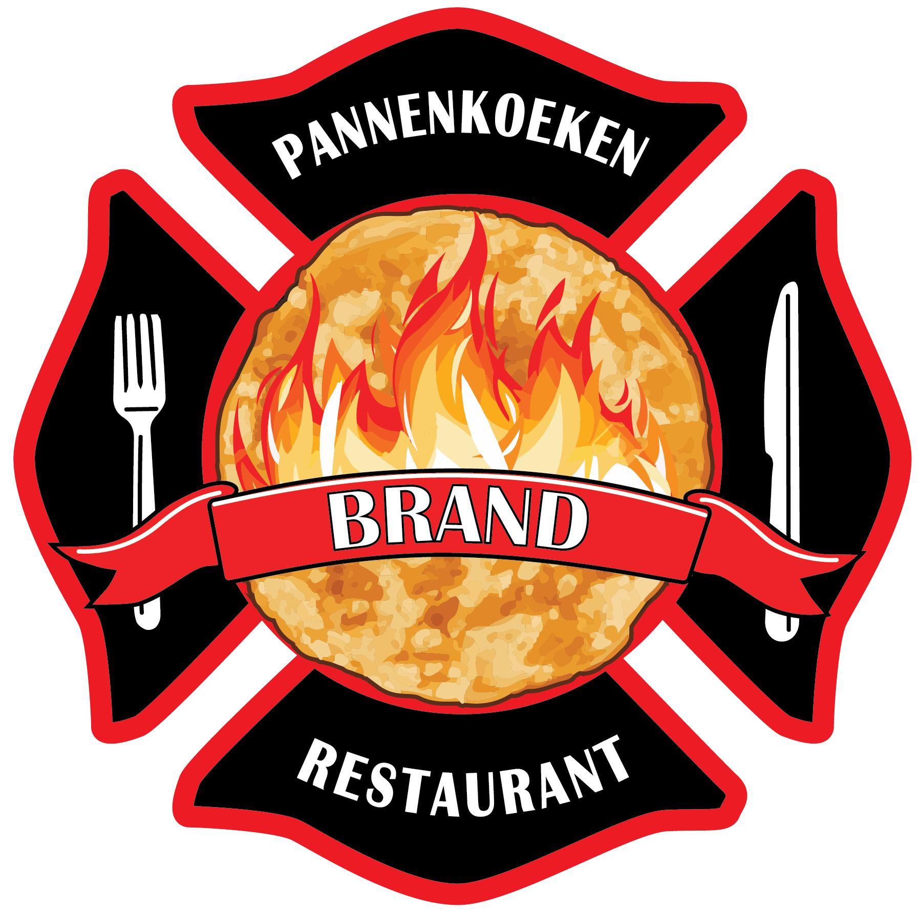 Brand pannenkoekenrestaurant