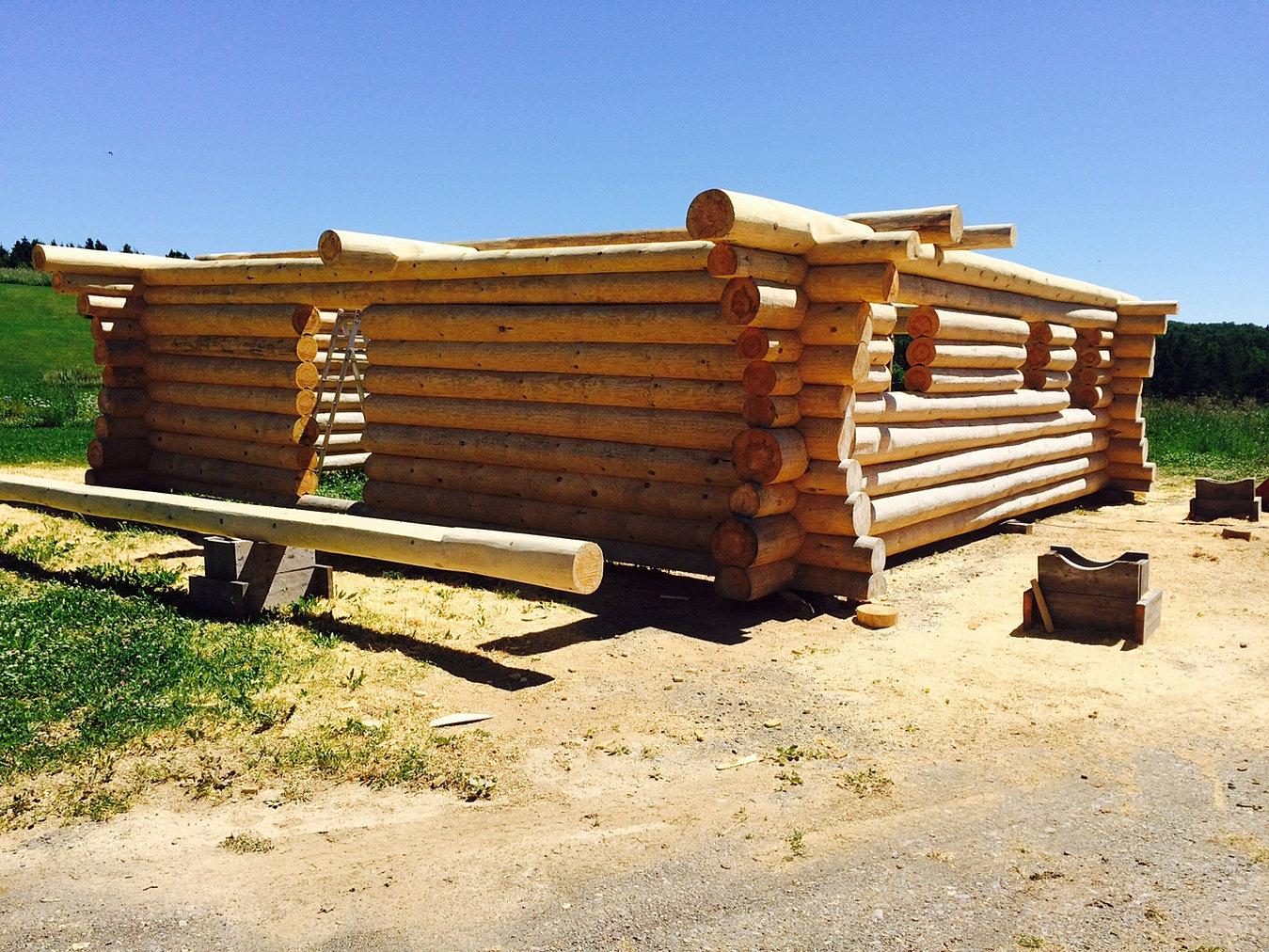 maisons bois rond en construction qu bec bois rond de l 39 est